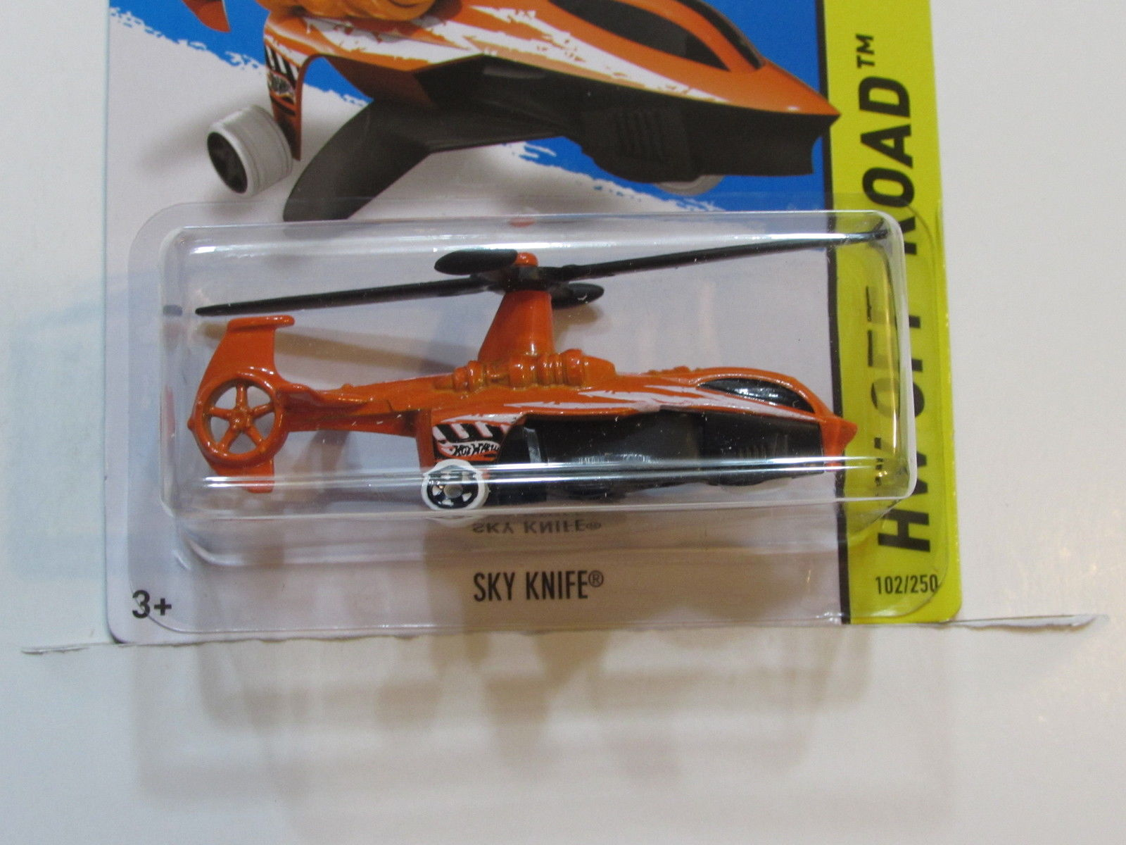 HOT WHEELS 2014 HW OFF - ROAD SKY KNIFE FACTORY SEALED