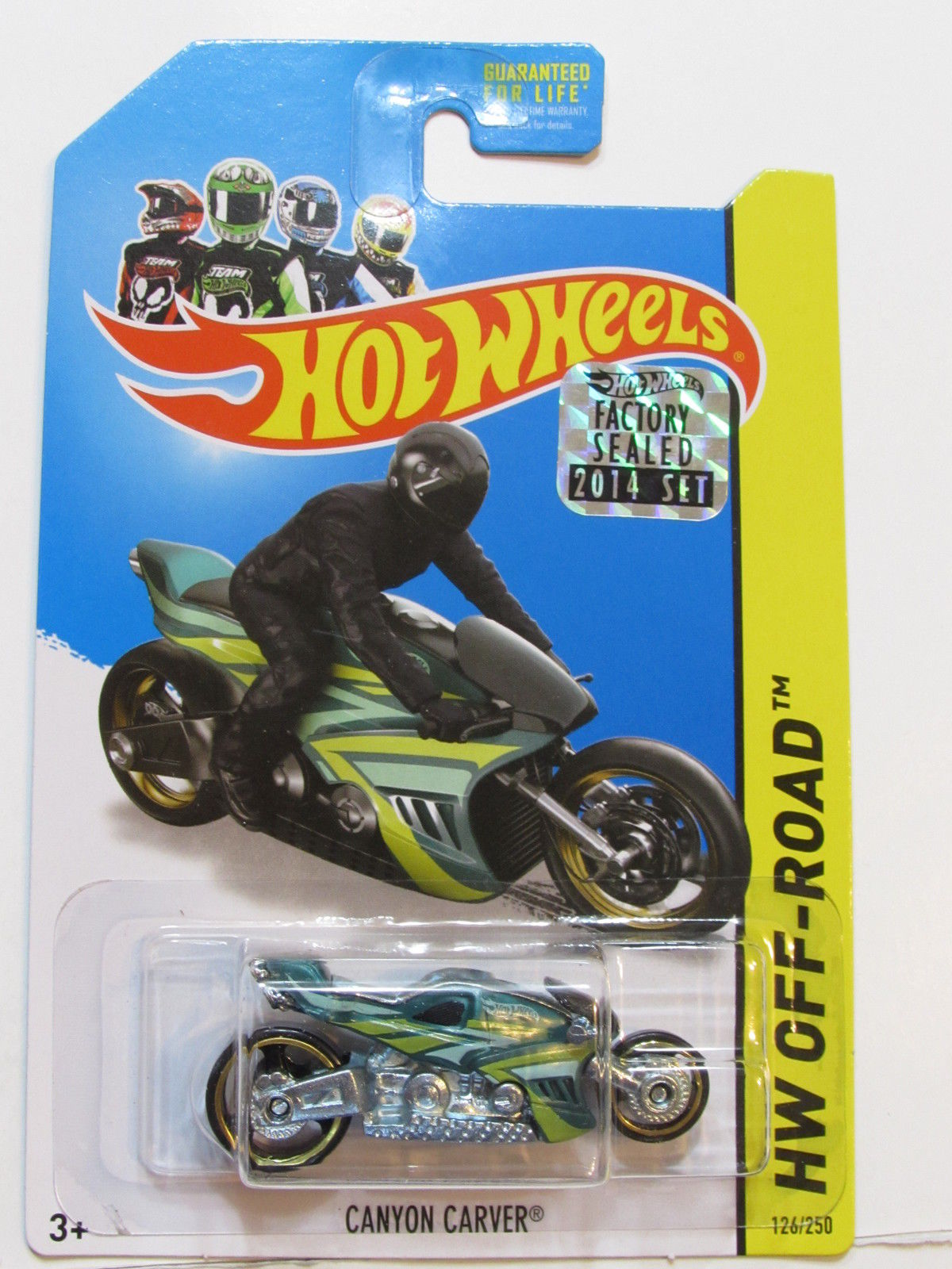 HOT WHEELS 2014 HW OFF ROAD CANYON CARVER FACTORY SEALED