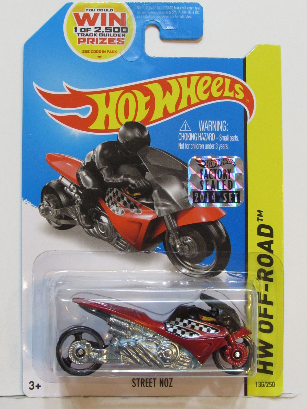 HOT WHEELS 2014 HW OFF ROAD STREET NOZ RED FACTORY SEALED