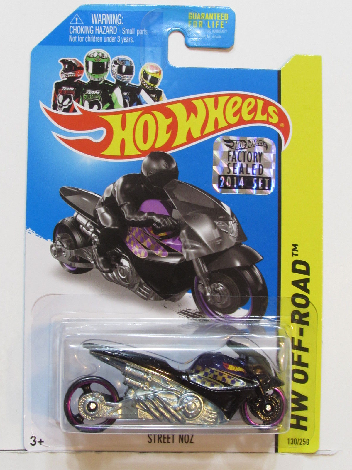 HOT WHEELS 2014 HW OFF ROAD STREET NOZ FACTORY SEALED