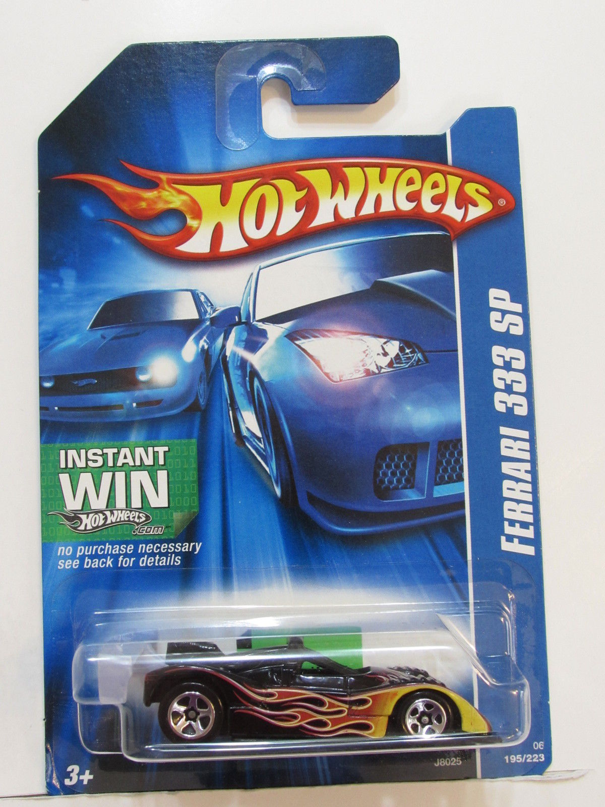 HOT WHEELS 2006 FERRARI 333 SP