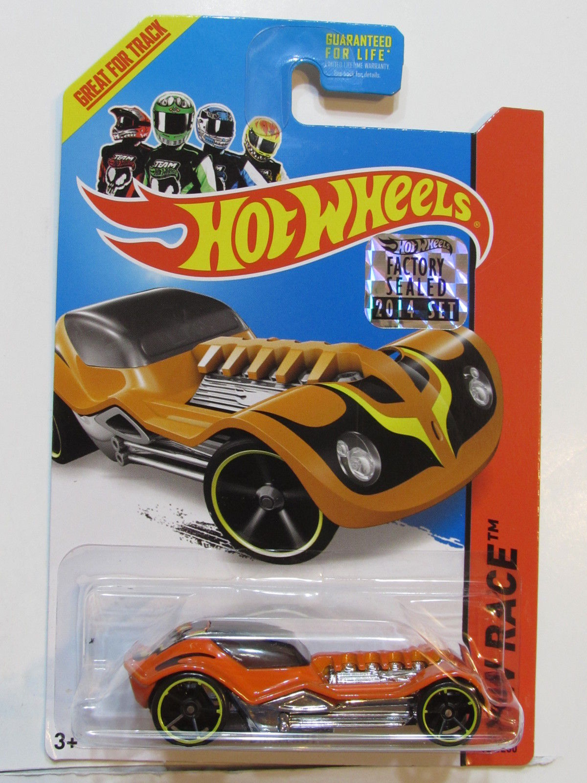 HOT WHEELS 2014 HW RACE DIESELBOY FACTORY SEALED