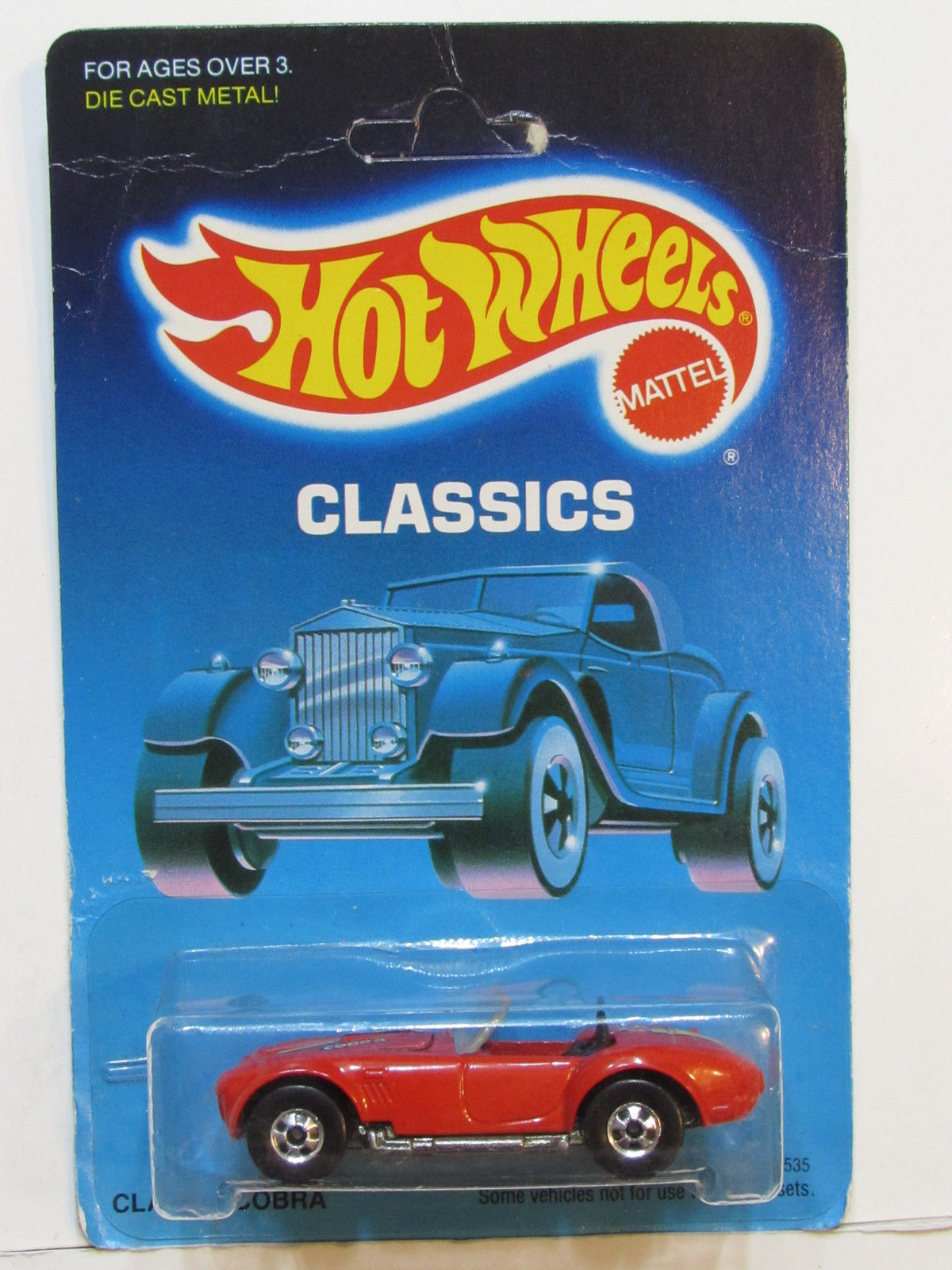 HOT WHEELS 1988 CLASSICS - CLASSIC COBRA