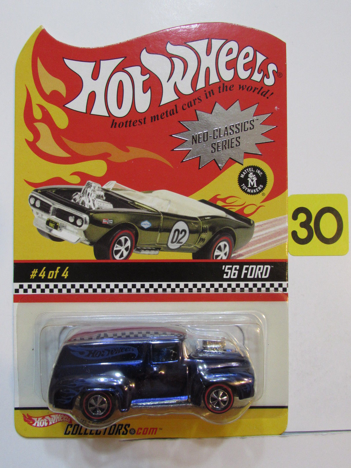 HOT WHEELS 2003 NEO-CLASSICS SERIES #4/4 - '56 FORD