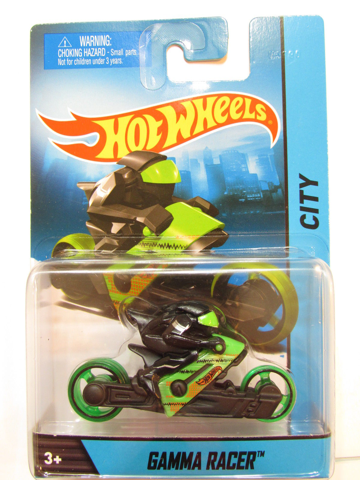 HOT WHEELS 2013 1:64 SCALE CITY - GAMMA RACER