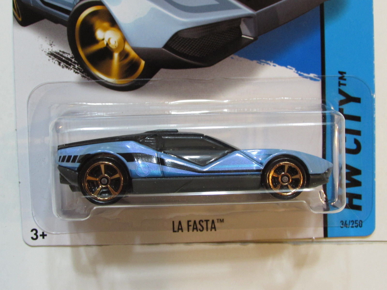 HOT WHEELS 2014 TREASURE HUNT HW CITY LA FASTA