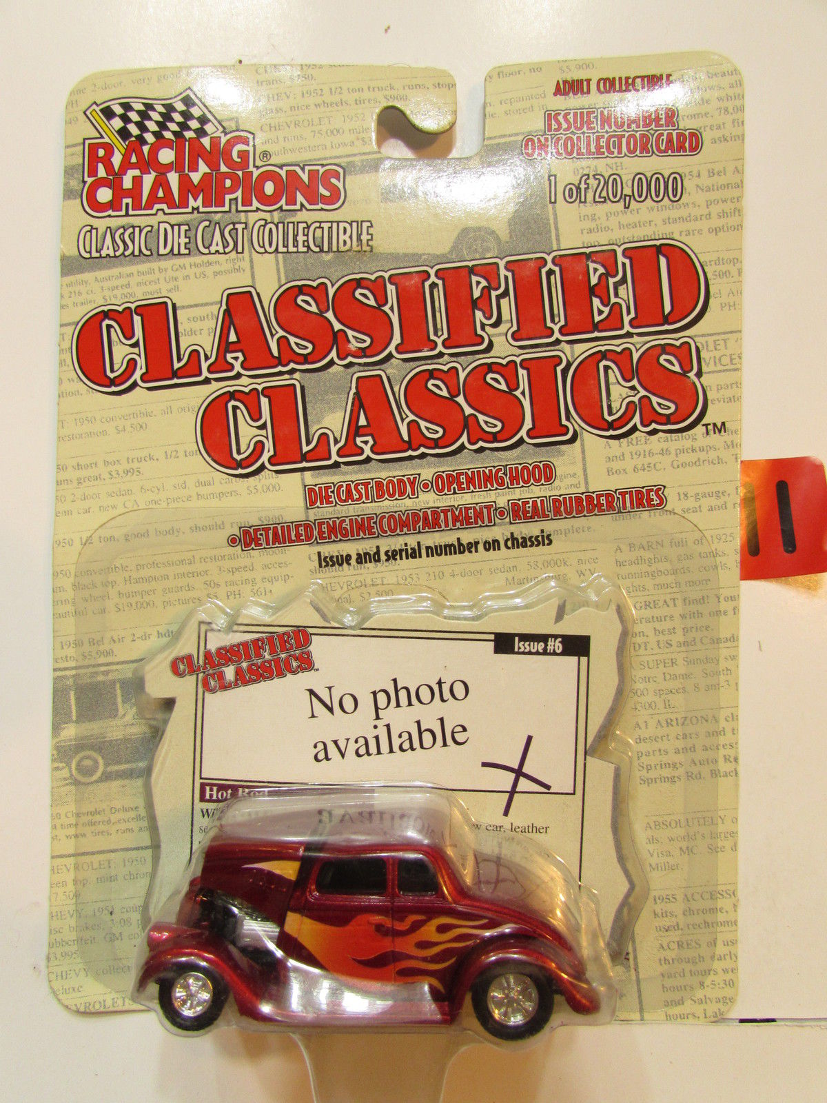 RACING CHAMPION CLASSIFIED CLASSICS '33 WILLYS COUPE