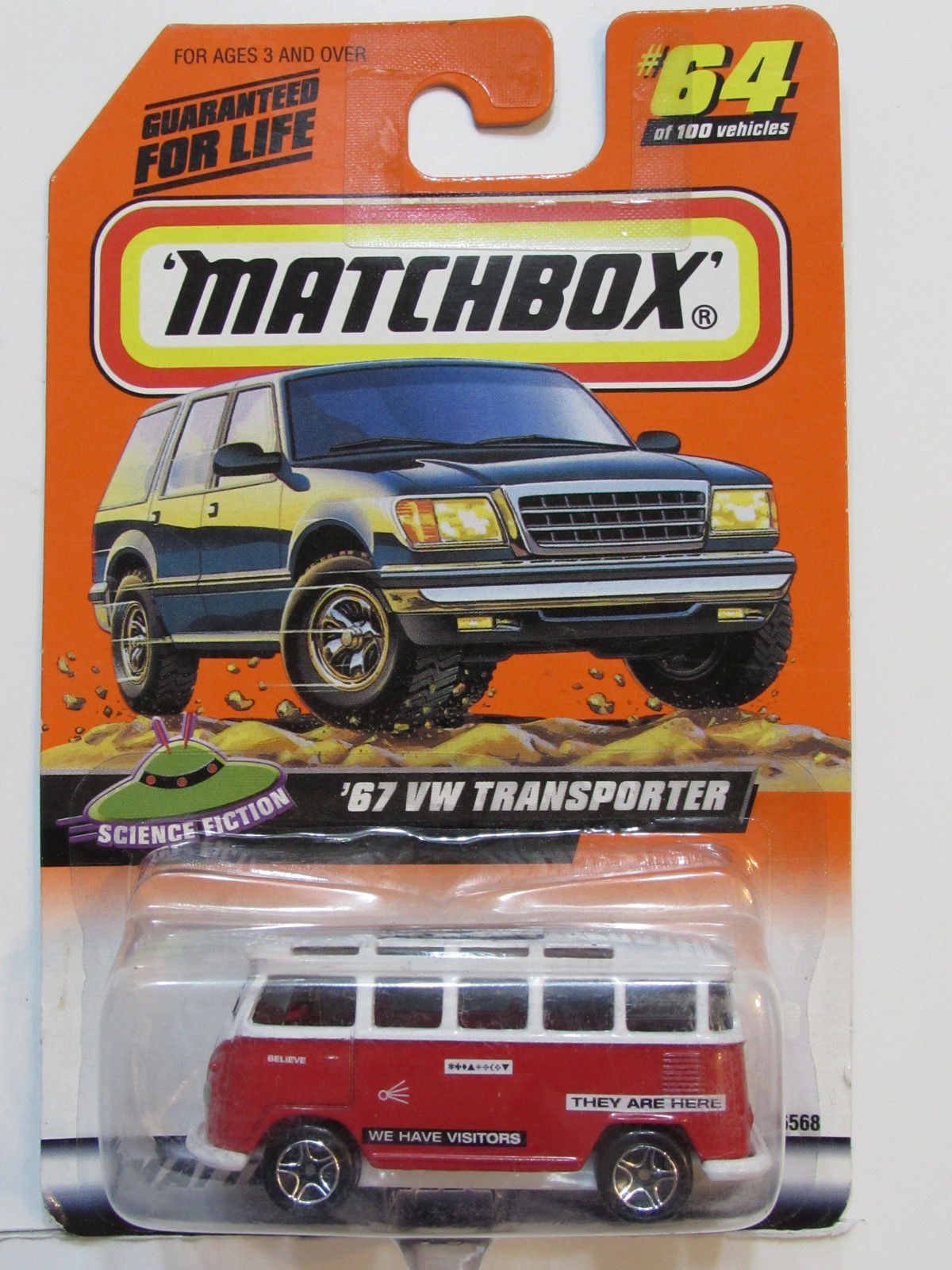 MATCHBOX 1999 #26/100 SCIENCE FICTION '67 VW TRANSPORTER