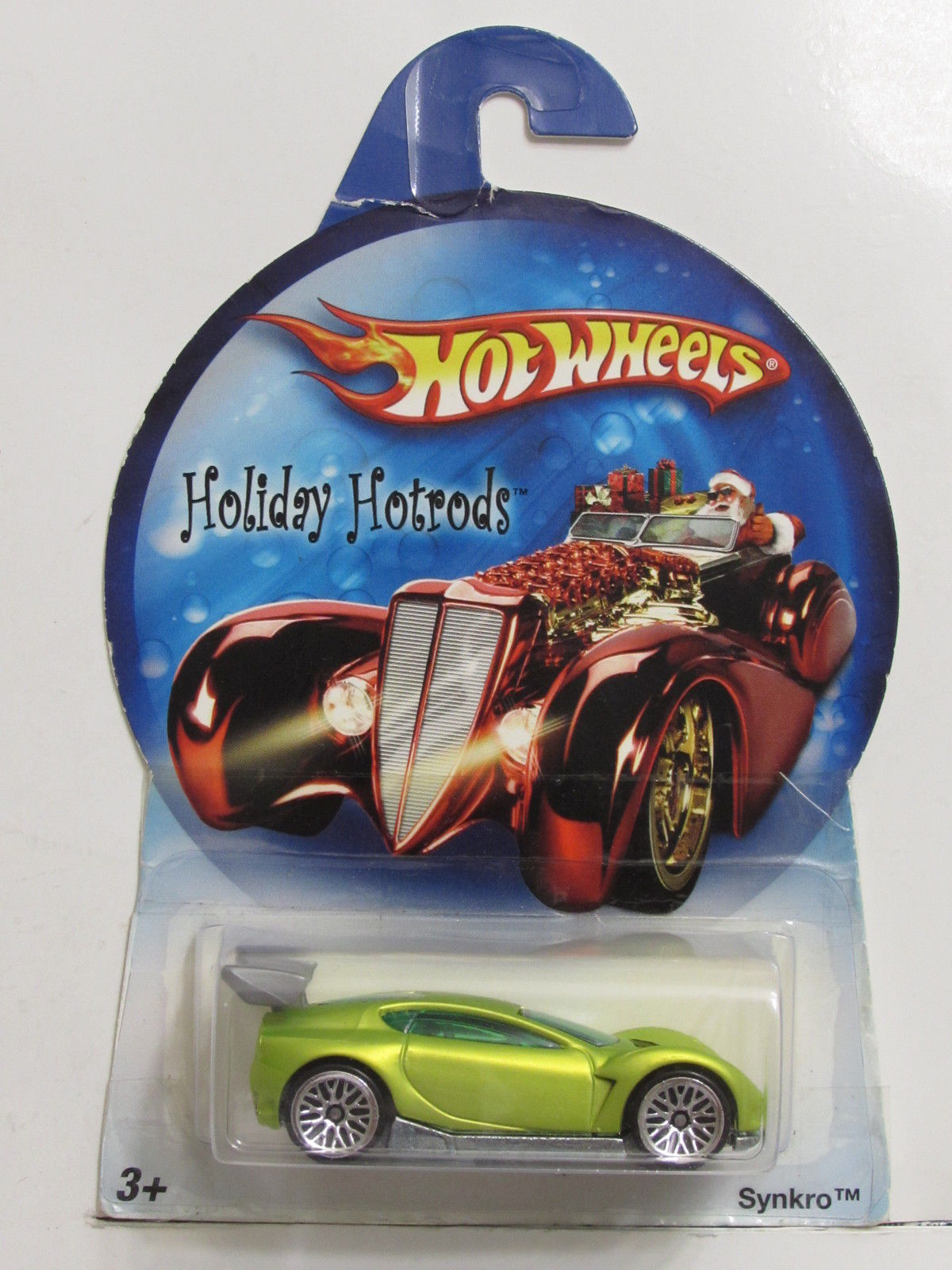 HOT WHEELS HOLIDAY RODS SYNKRO