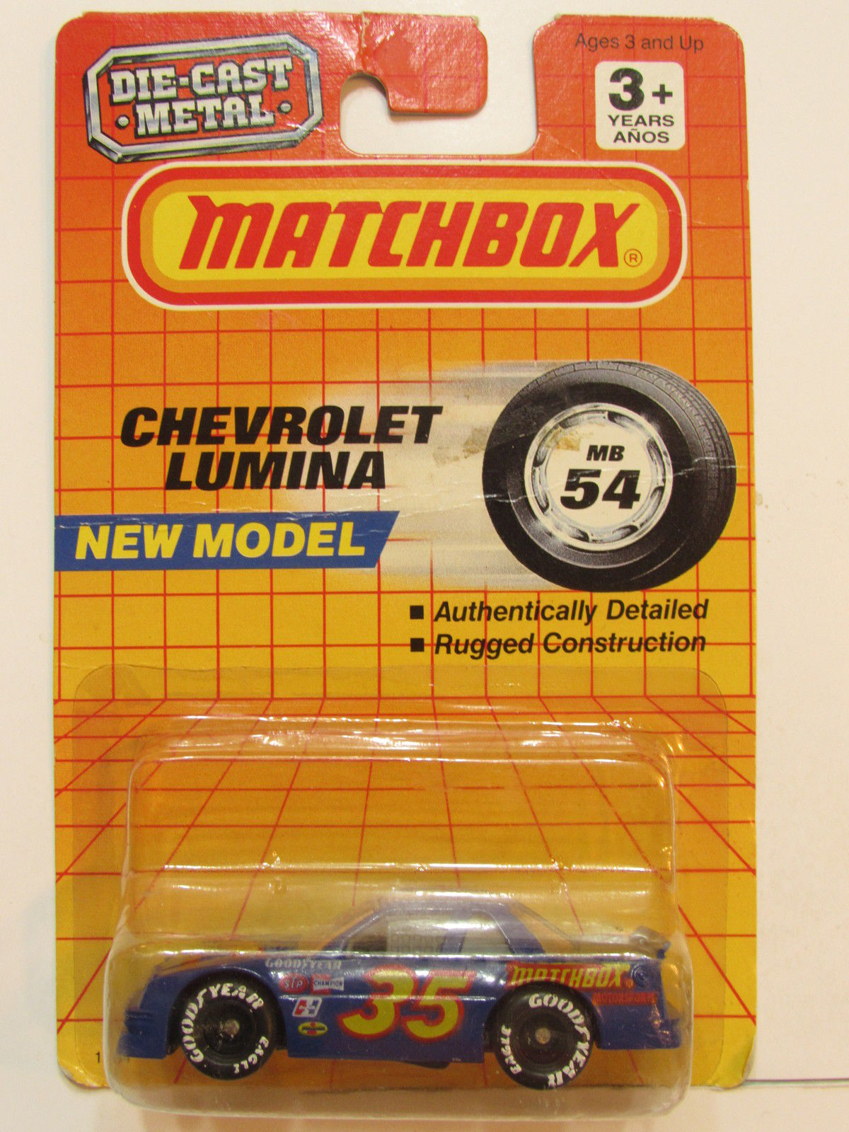 MATCHBOX 1990 NEW MODELS CHEVROLET LUMINA