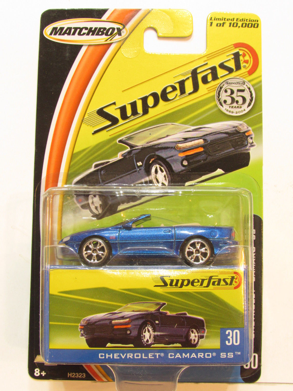 MATCHBOX 2004 SUPERFAST CHEVROLET CAMARO SS #30