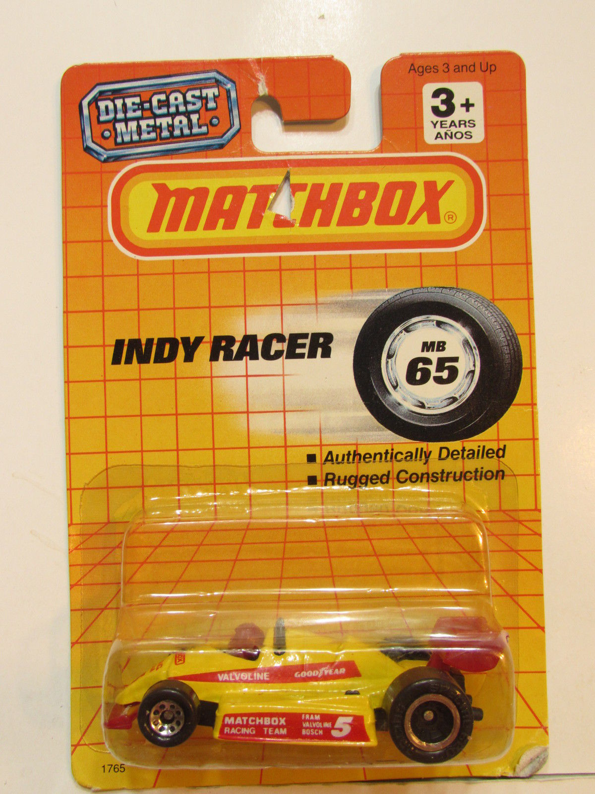 MATCHBOX 1992 INDY RACER #65