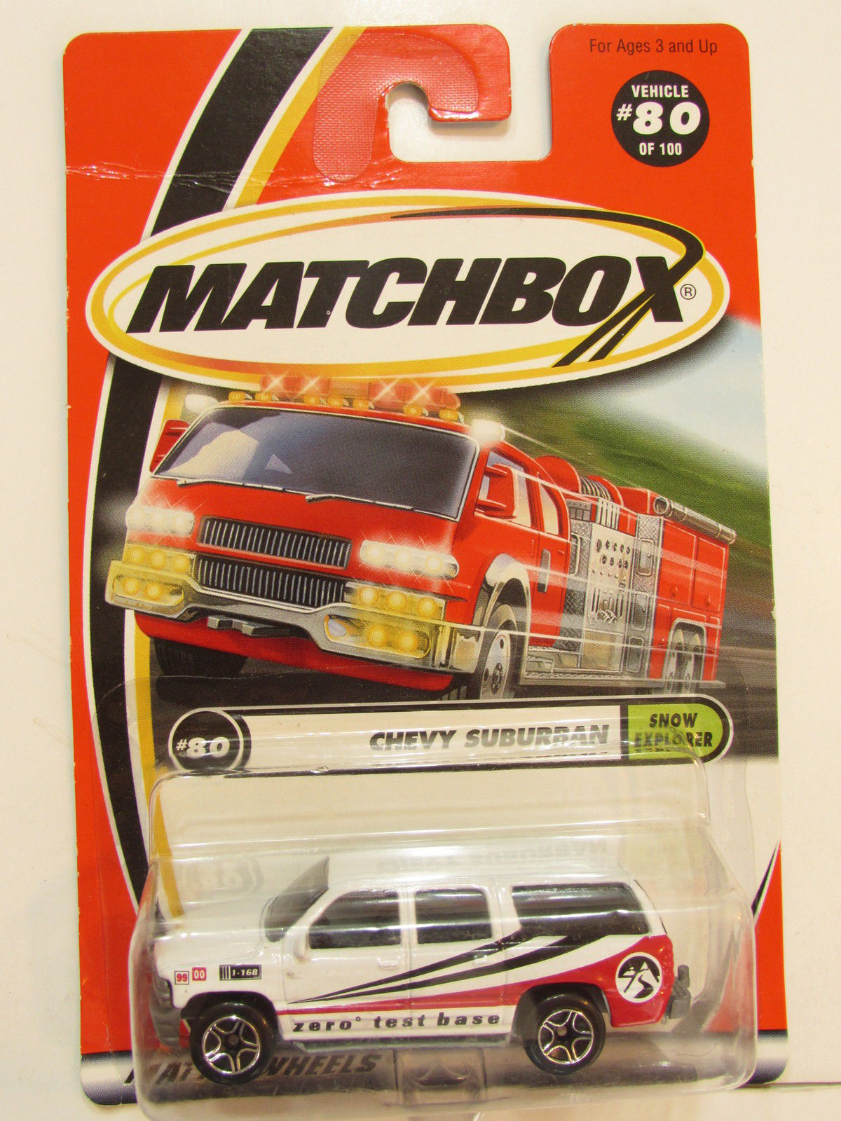 MATCHBOX 2000 #80 OF 100 CHEVROLET SUBURBAN - SHOW EXPLORER