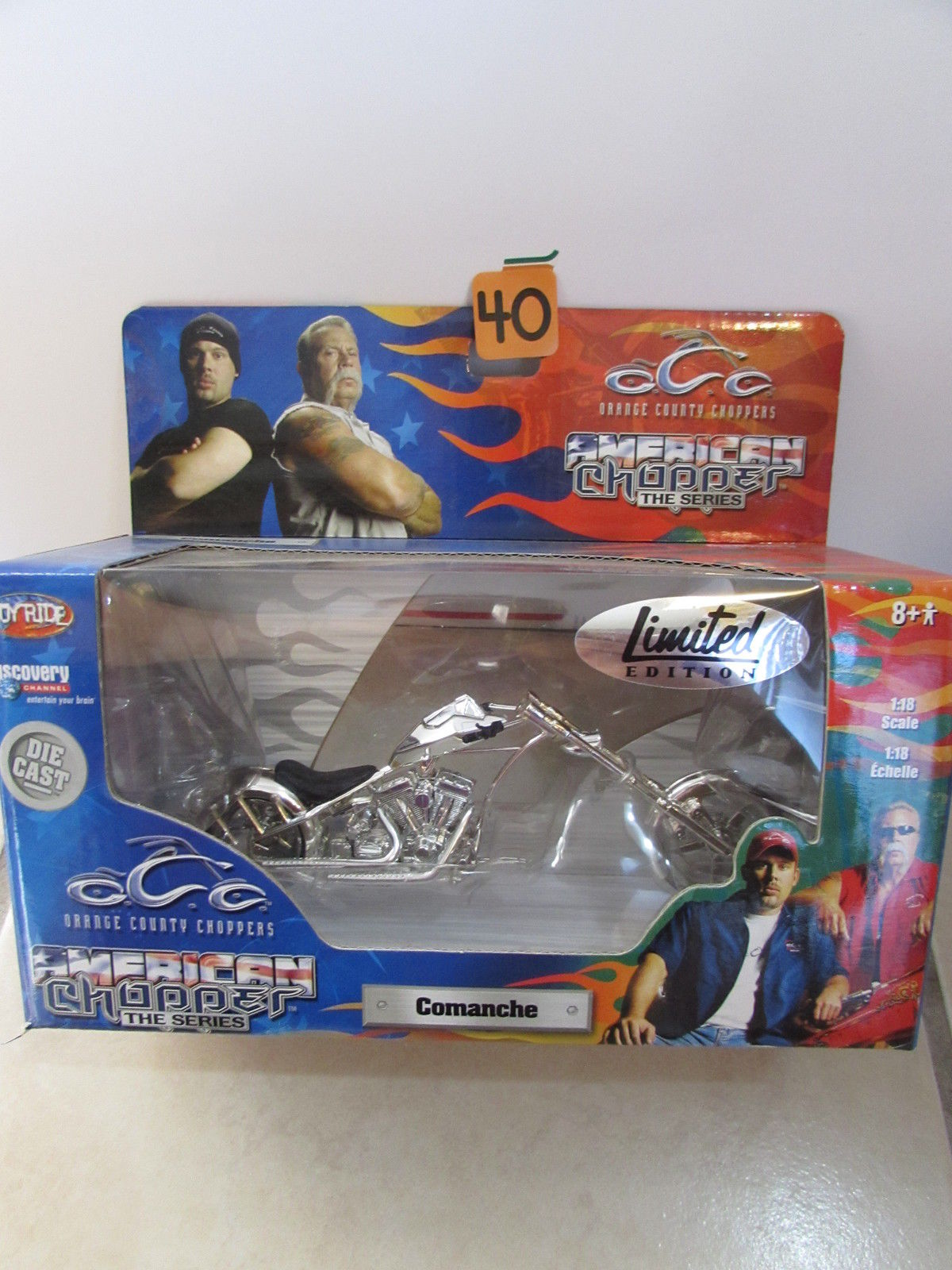 AMERICAN CHOPPER THE SERIES - COMANCHE SCALE 1:18