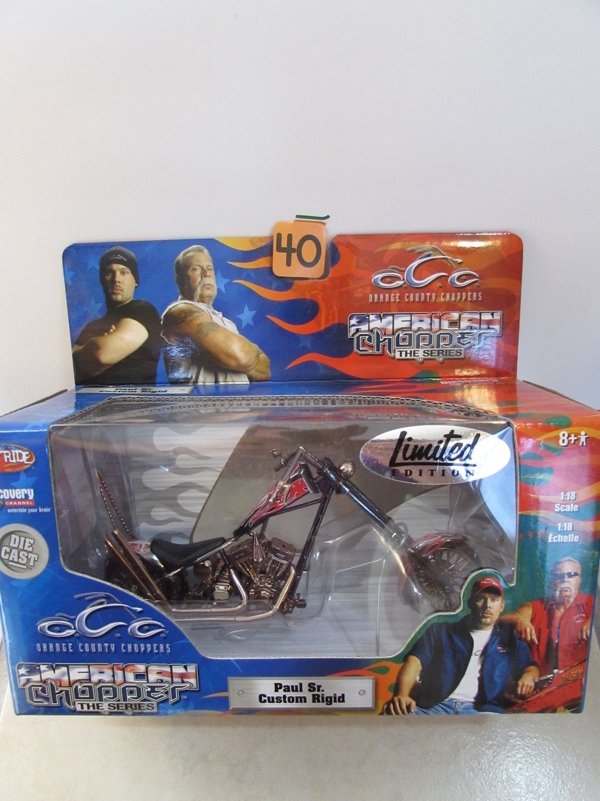 AMERICAN CHOPPER THE SERIES - PAUL SR. CUSTOM RIGID SCALE 1:18
