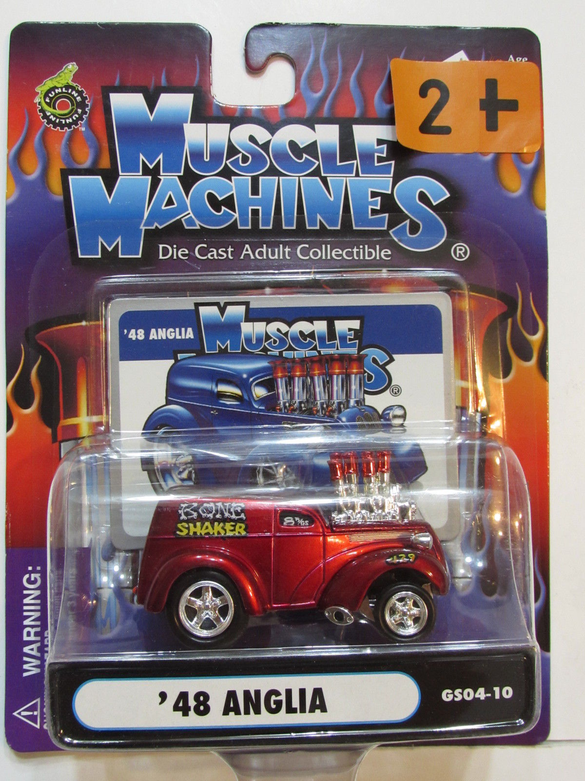 MUSCLE MACHINES '48 ANGLIA SCALE 1:64