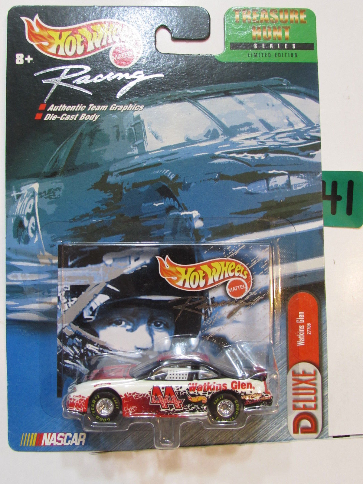 HOT WHEELS 1999 RACING NASCAR DELUXE WATKINS GLEN - TREASURE HUNT SERIES