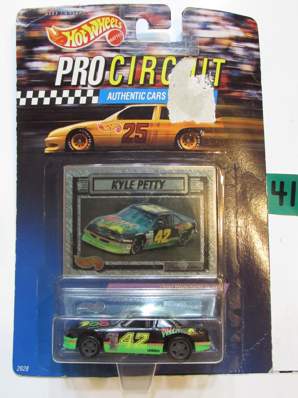 HOT WHEELS 1992 PRO CIRCUIT RACERS - KYLE PETTY - PONTIAC