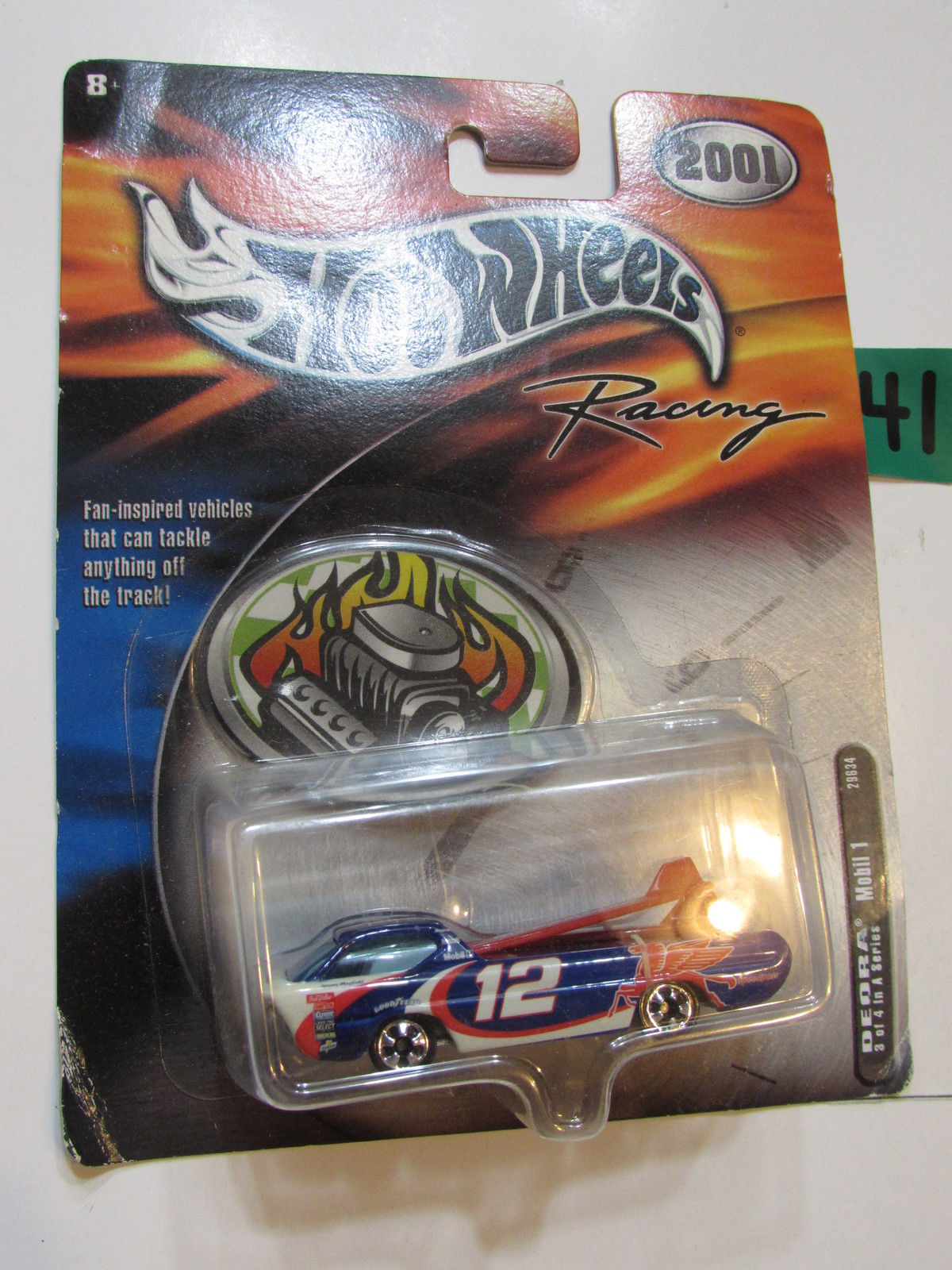 HOT WHEELS 2001 RACING DEORA MOBIL 1