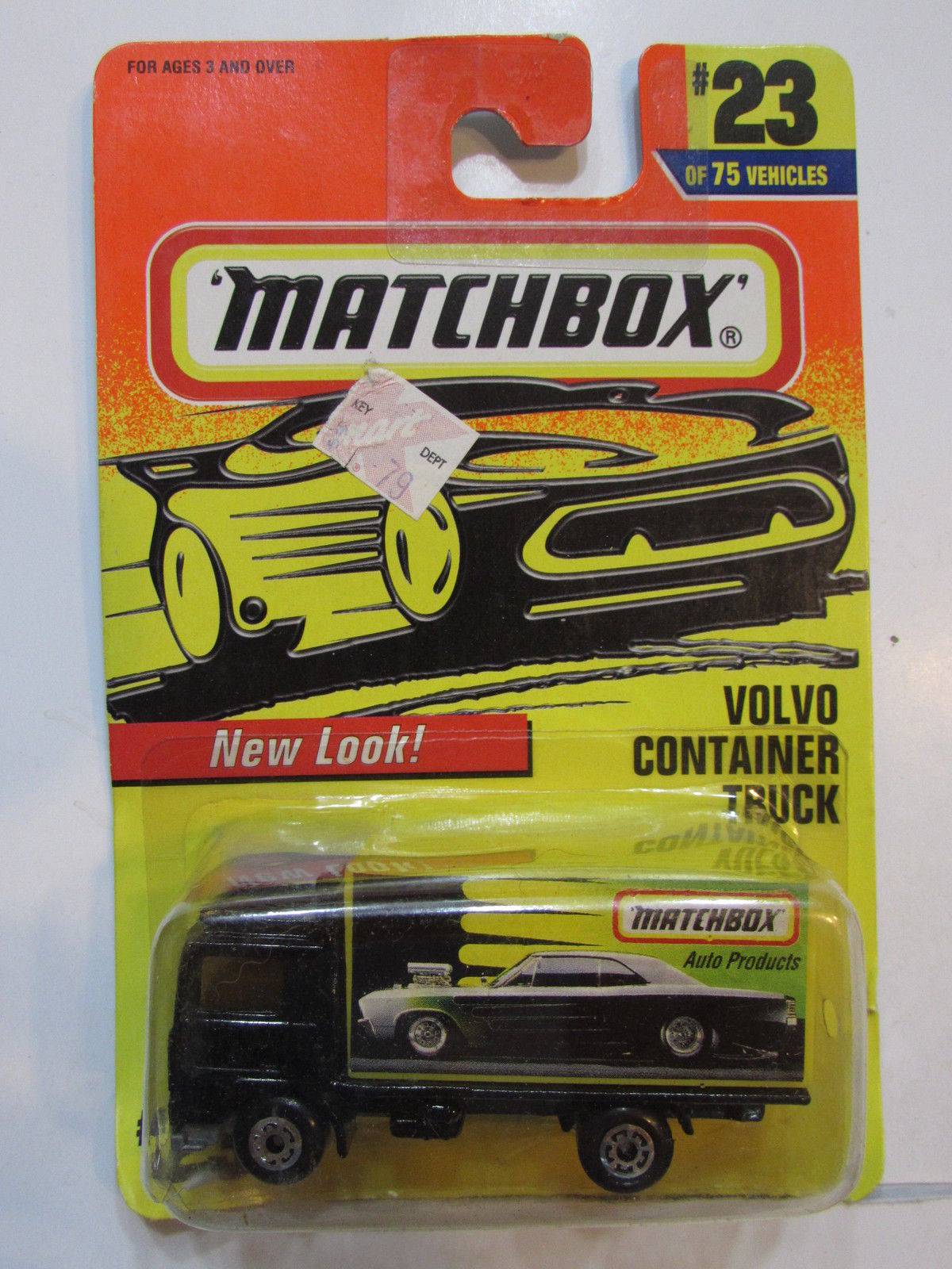 MATCHBOX 1996 #23 VOLVO CONTAINER TRUCK