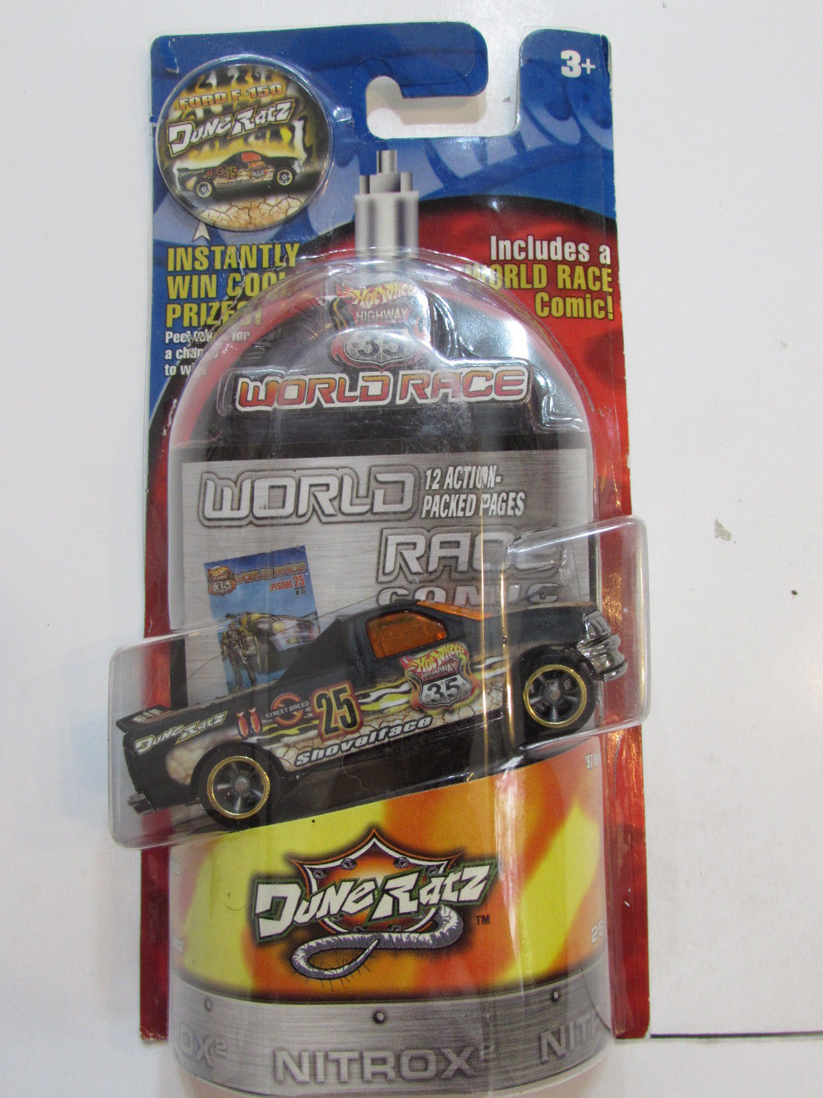 HOT WHEELS HIGHWAY 35 WORLD RACE DUNE RATZ #25/35 '97 FORD F - 150