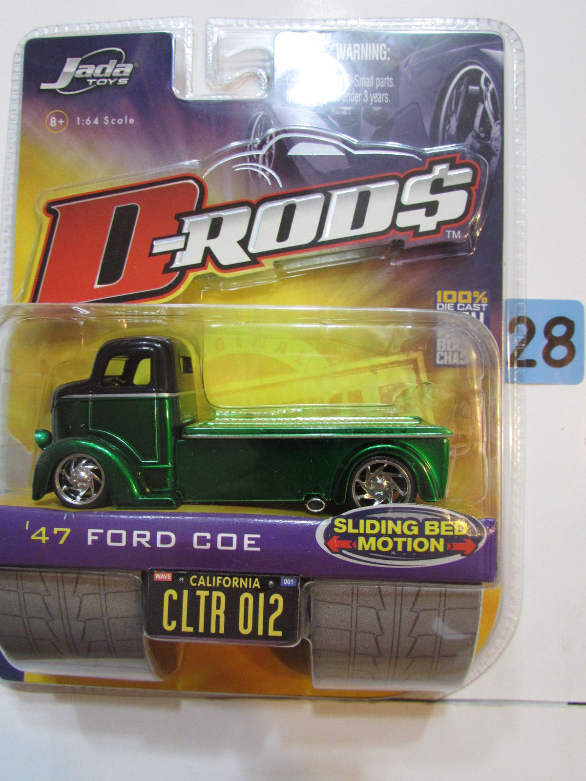 JADA TOYS 2005 D RODS WAVE 1 - '47 FORD COE CLTR 012 GREEN