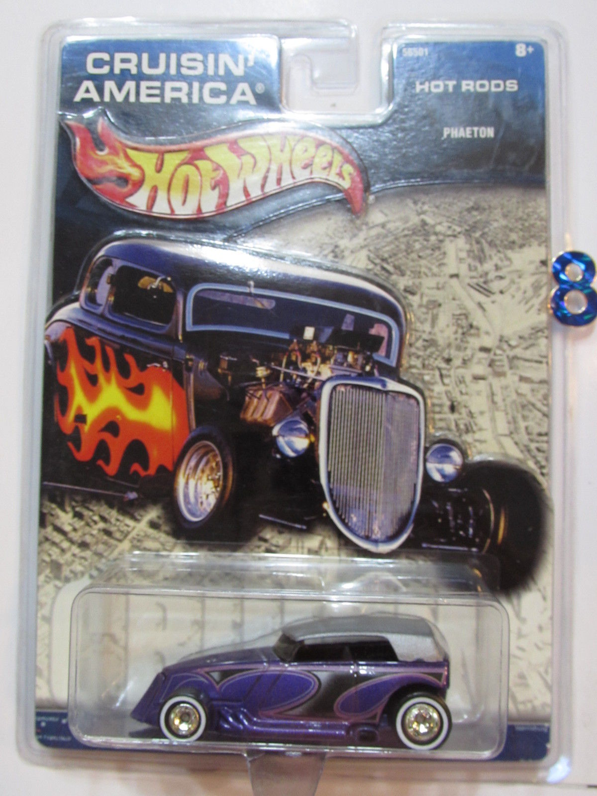 HOT WHEELS CRUISIN'S AMERICA HOT RODS - PHAETON