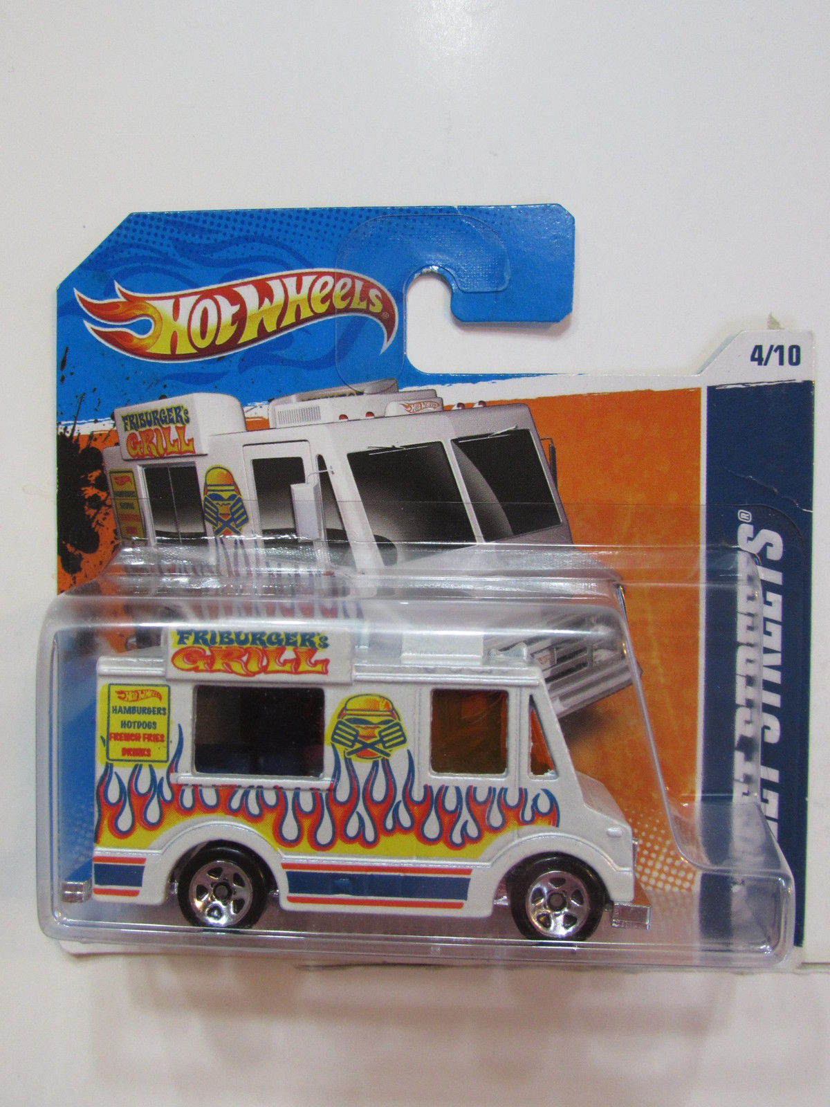 HOT WHEELS 2011 #04/10 HW CITY WORKS - SWEET STREETS SHORT CARD
