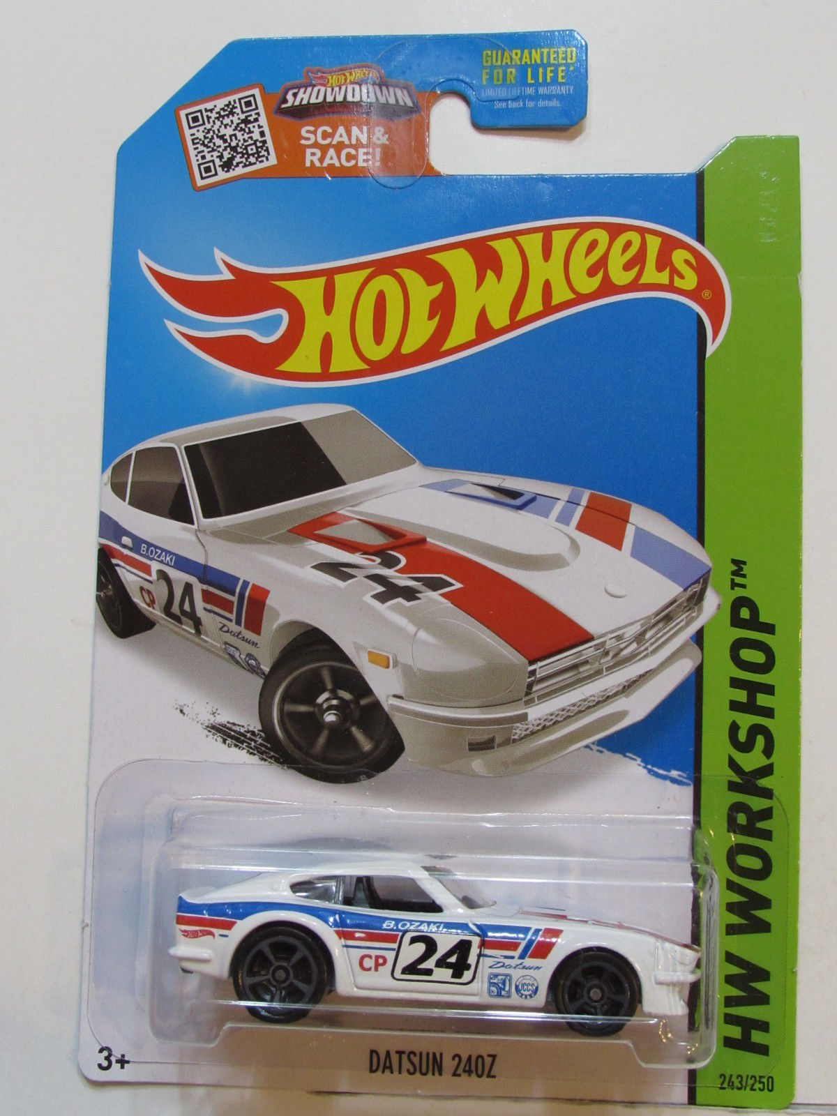 HOT WHEELS 2015 HW WORKSHOP - THEN & NOW- DATSUN 240Z