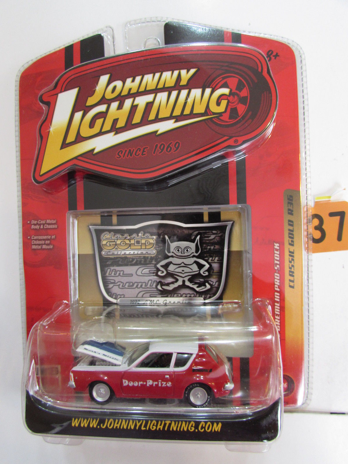 JOHNNY LIGHTNING 2008 CLASSIC GOLD COLLECTION '72 AMC GREMLIN - STOCK JL R36