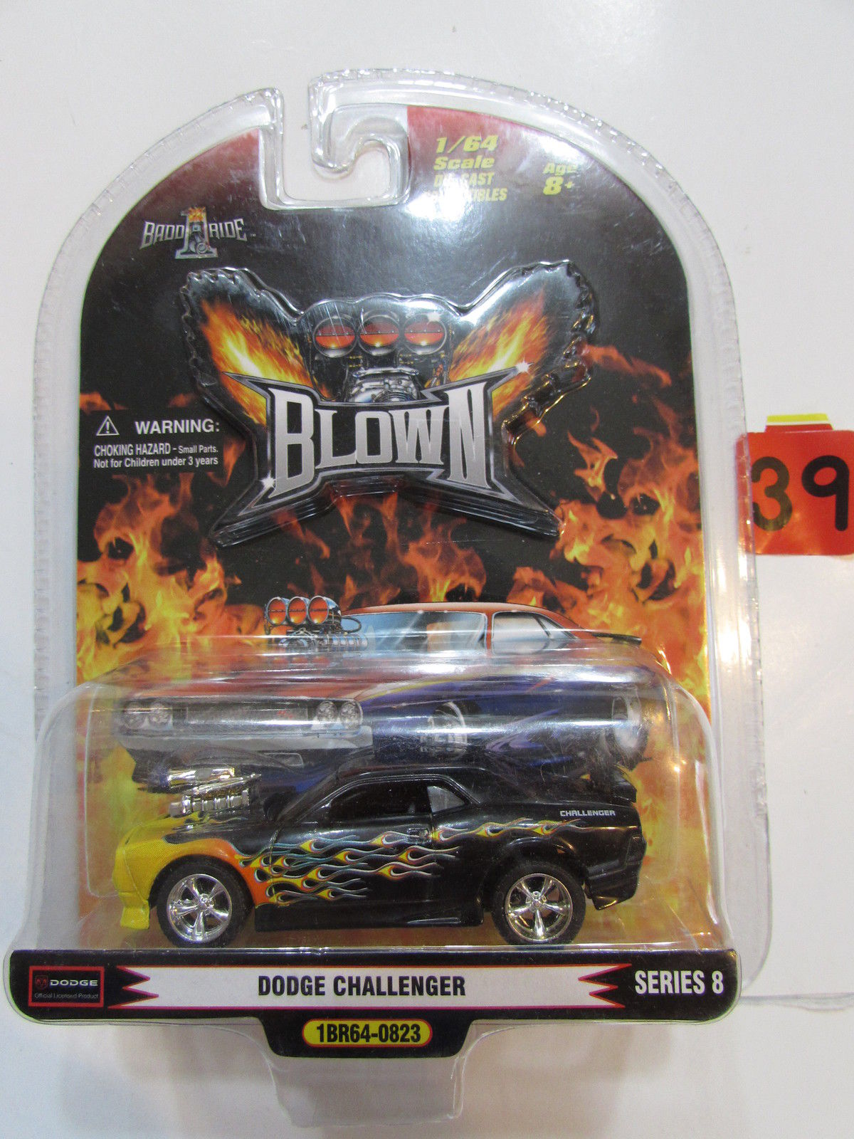 1 BADD RIDE BLOWN DODGE CHALLENGER SERIES 8 SCALE 1:64