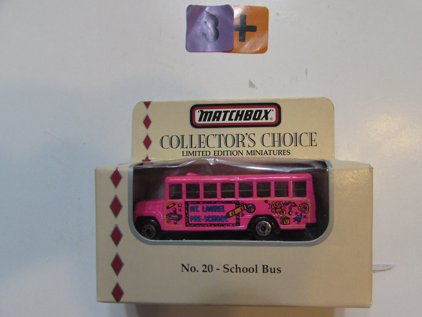 MATCHBOX 1994 COLLECTORS CHOICE NO 20 - SCHOOL BUS