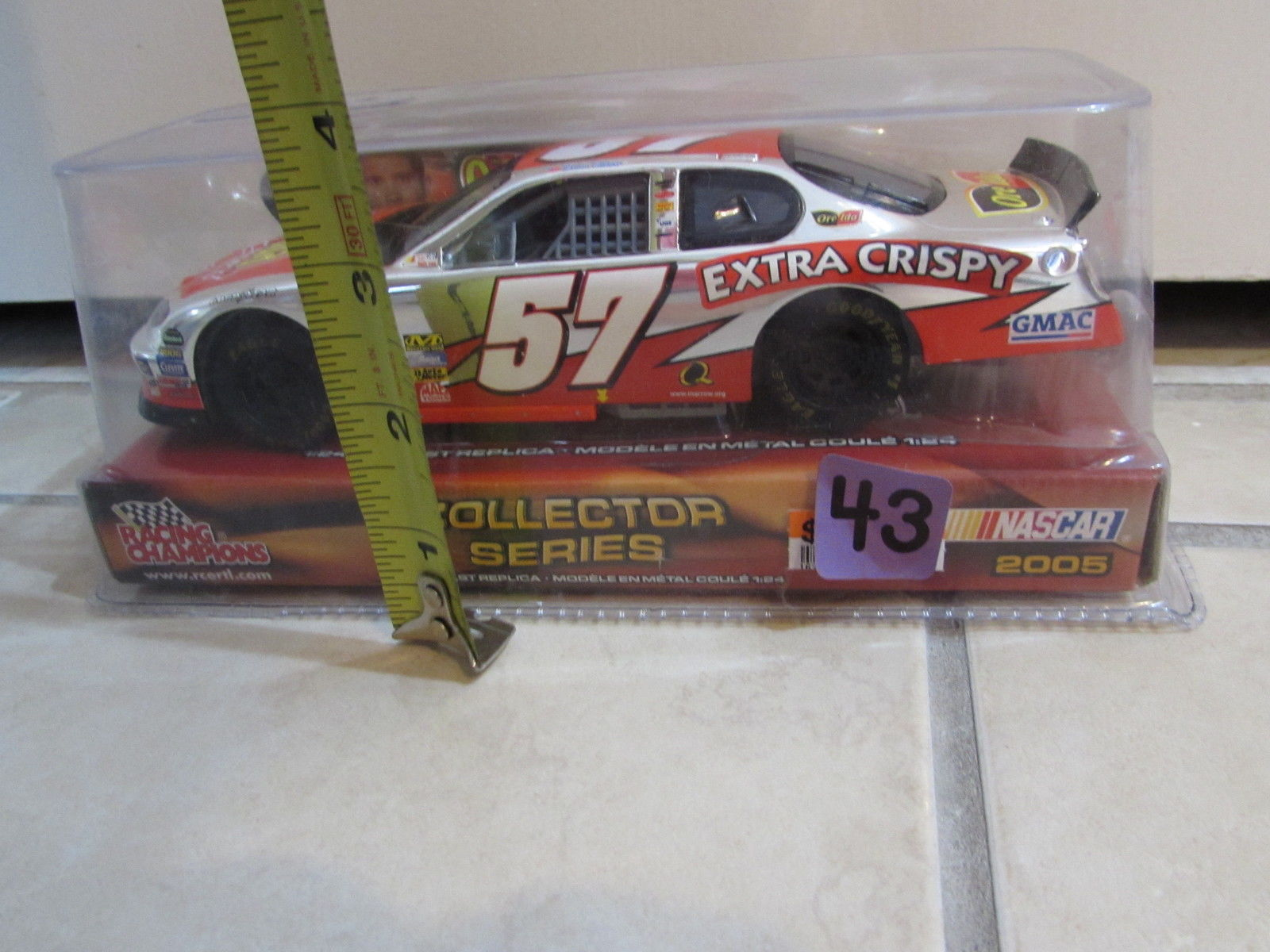 RACING CHAMPIONS NASCAR 2005 COLLECTOR SERIES BRIAN VICKERS #57 SCALE1:24 CHROME
