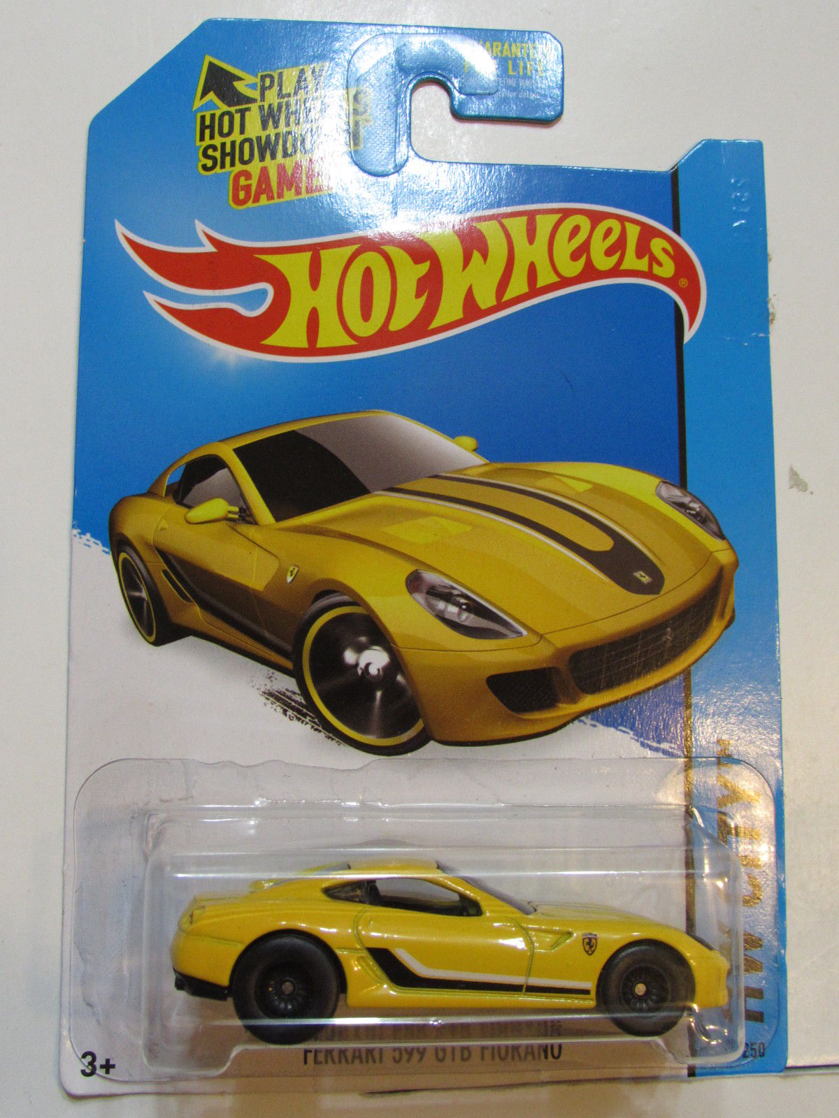 HOT WHEELS 2015 HW CITY - FERRARI 599 GTB FLORANO - CUSTOM