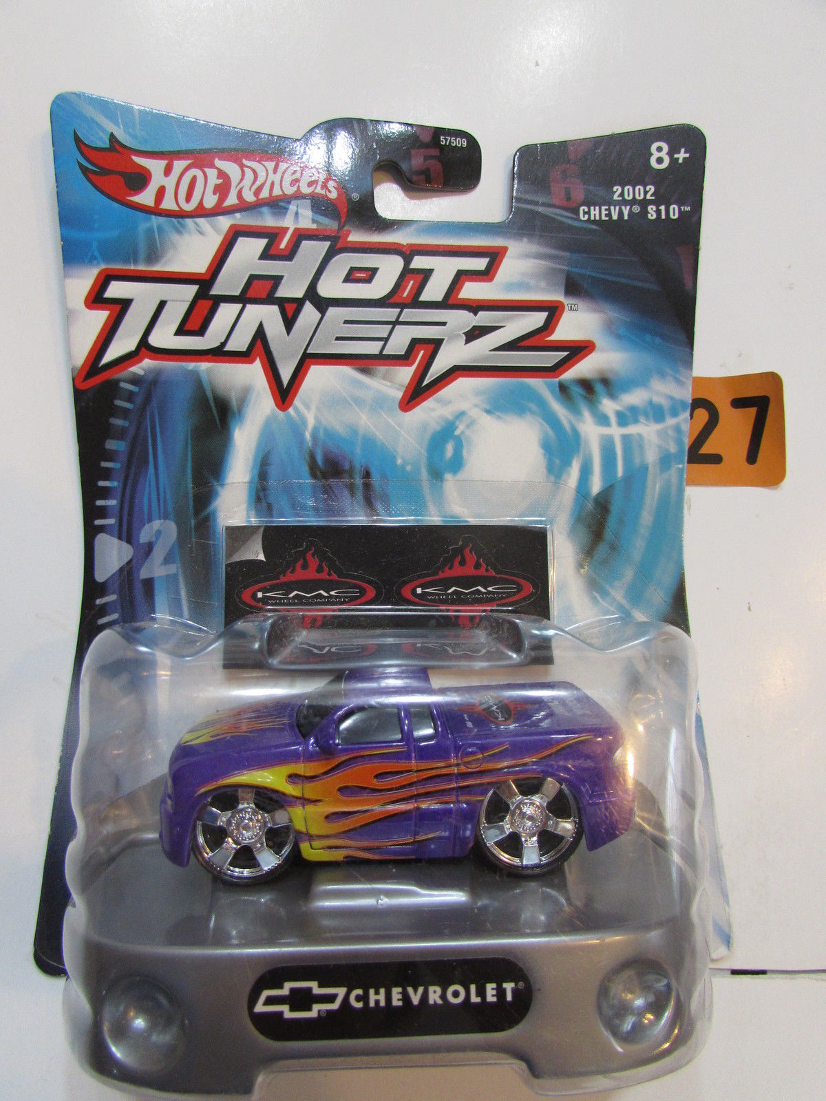 HOT WHEELS CAR TUNERZ 2002 CHEVY S10 PURPLE