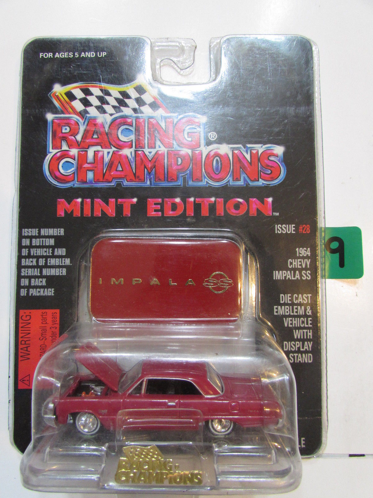 RACING CHAMPIONS MINT EDITION #28 1964 CHEVY IMPALA SS 1:63 SCALE