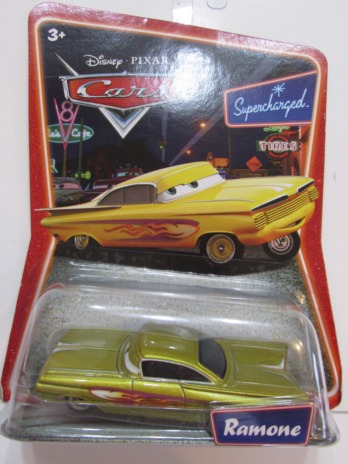DISNEY PIXAR CARS SUPERCHARGED - RAMONE