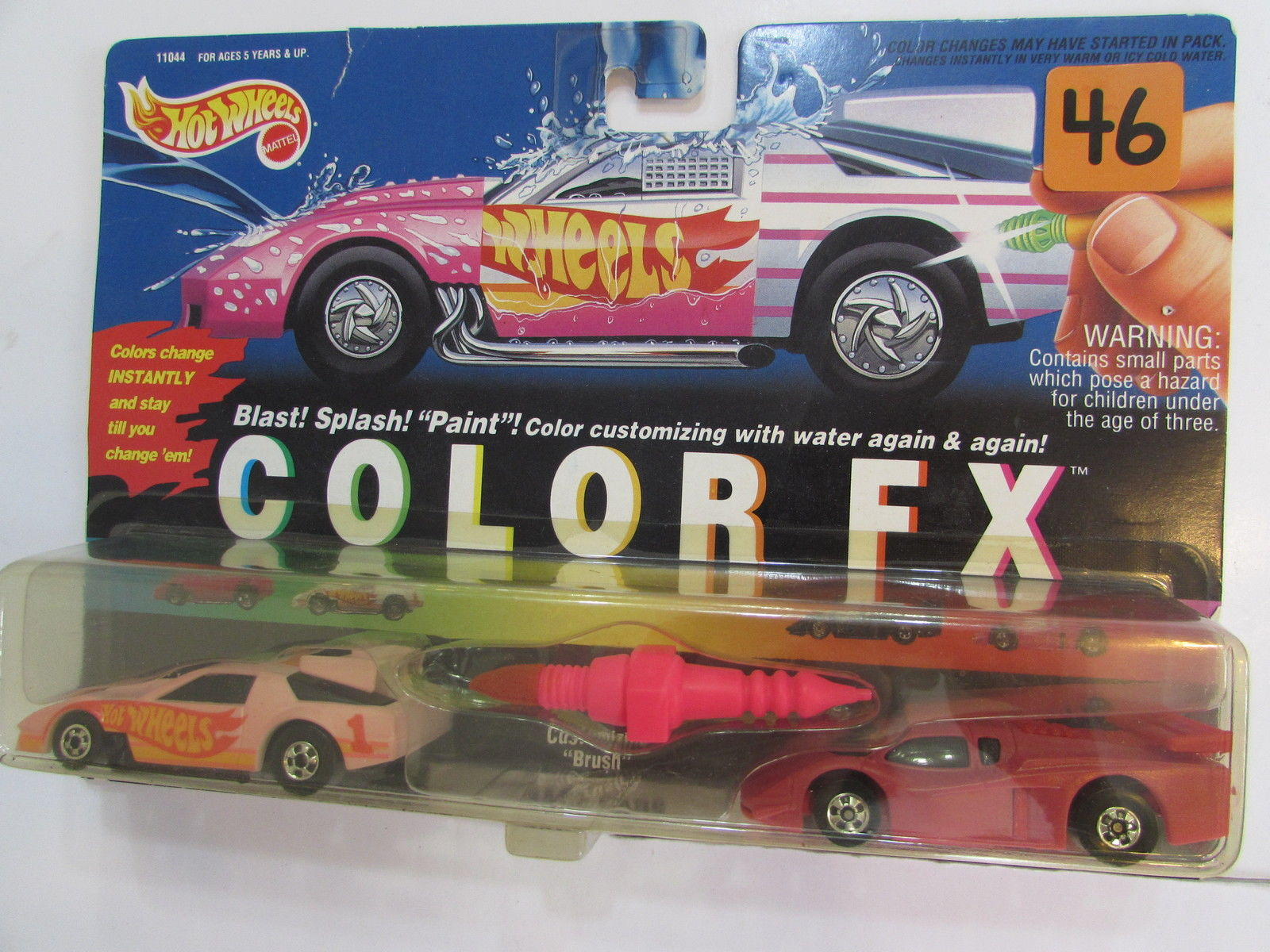 HOT WHEELS 1993 COLOR FX RACE CARS CAMARO RACER - GT RACER