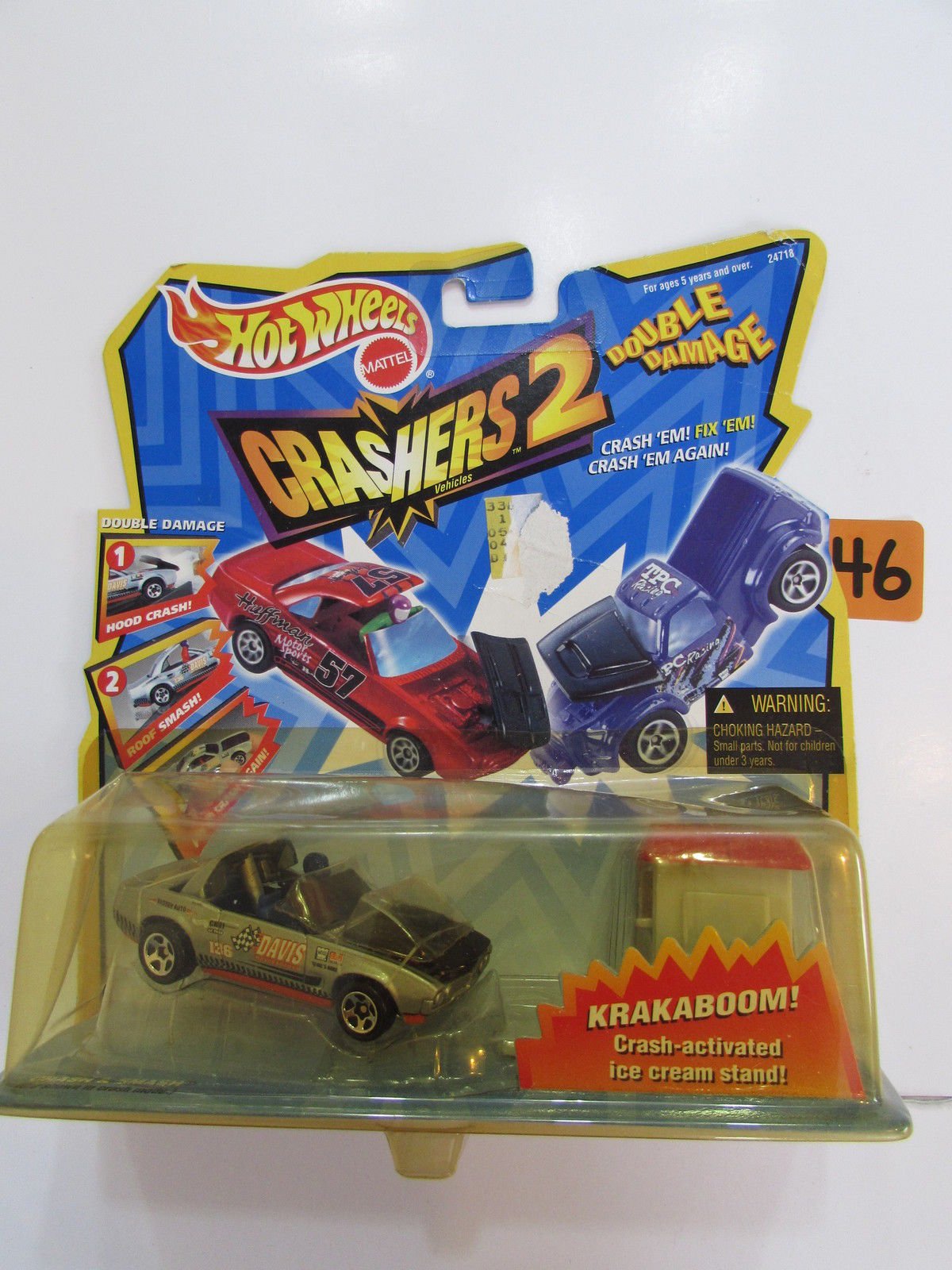 HOT WHEELS CRASHERS 2 DOUBLE DAMAGE