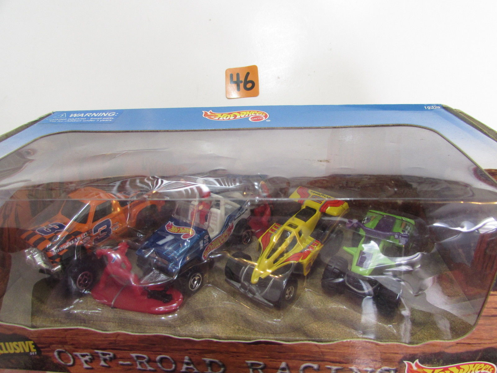 HOT WHEELS EXCLUSIVE OFF ROAD RACING 4 CAR PACK ATV - SHOCK FACTOR - CHEVY 4X4