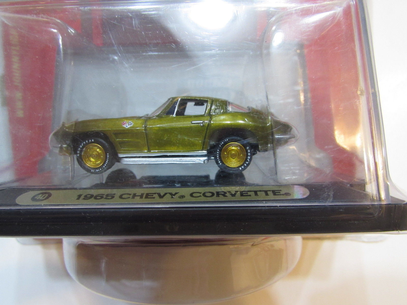 JOHNNY LIGHTNING GOLD SERIES MUSCLE CARS 1965 CHEVY CORVETTE