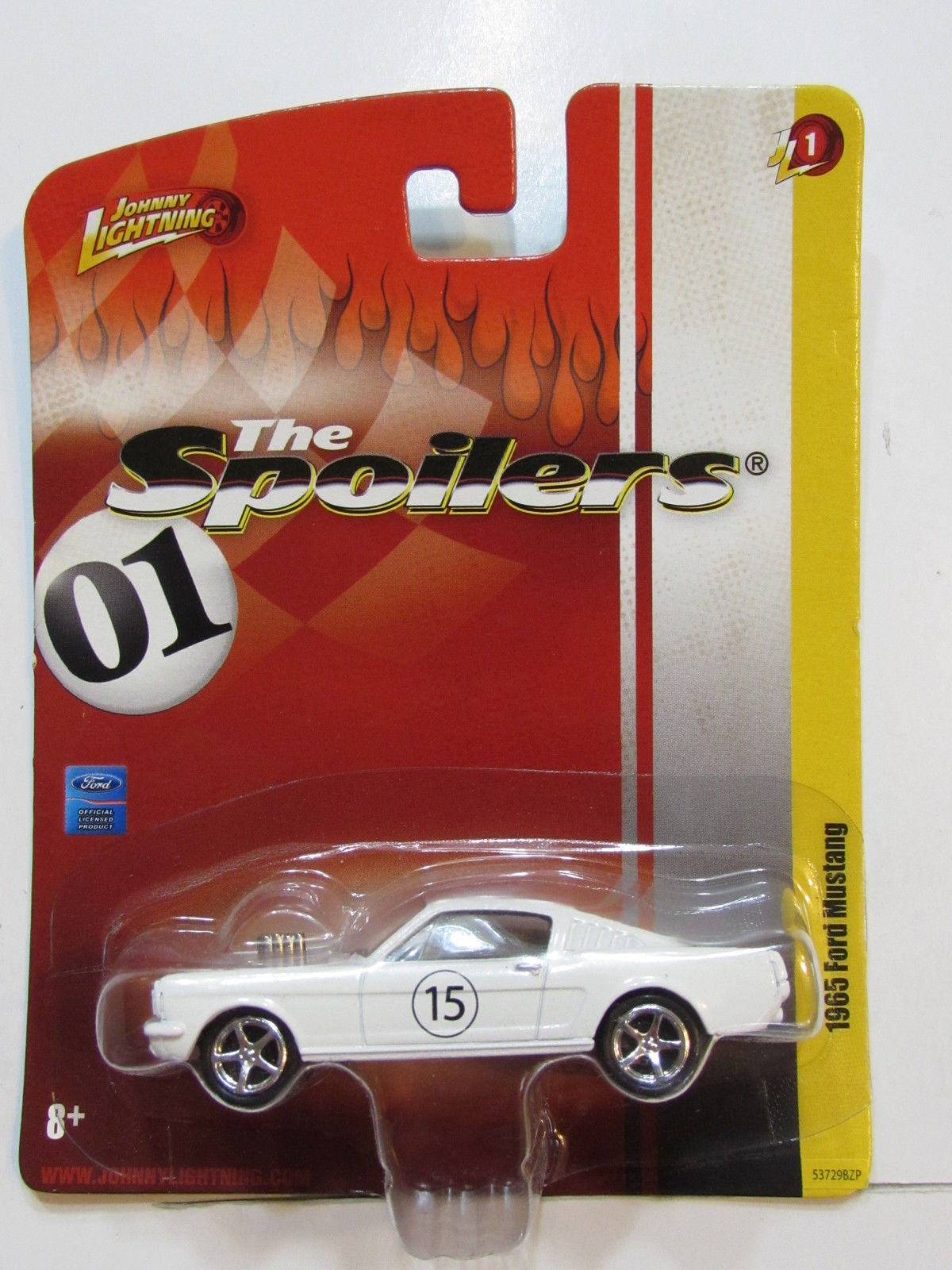 JOHNNY LIGHTNING THE SPOILERS 01 - 1965 FORD MUSTANG JL 1