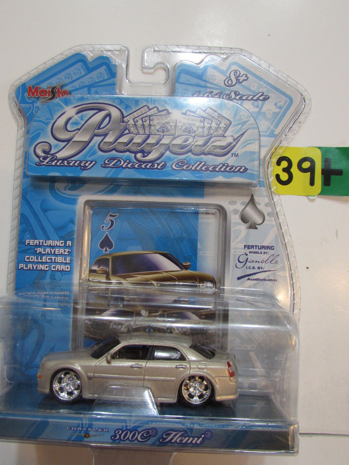 MAISTO PLAYERZ 2006 - CHRYSLER 300C HEMI SCALE 1:64