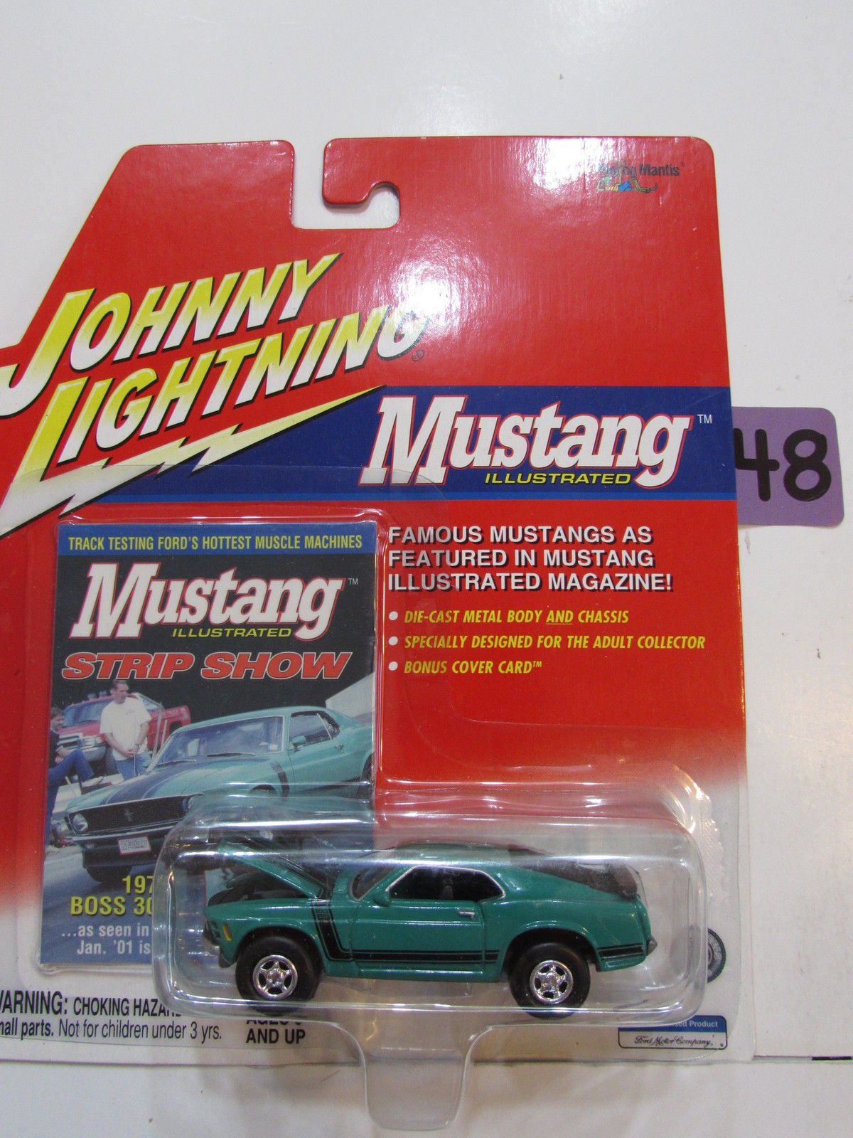JOHNNY LIGHTNING 2001 MUSTANG - 1970 BOSS 302