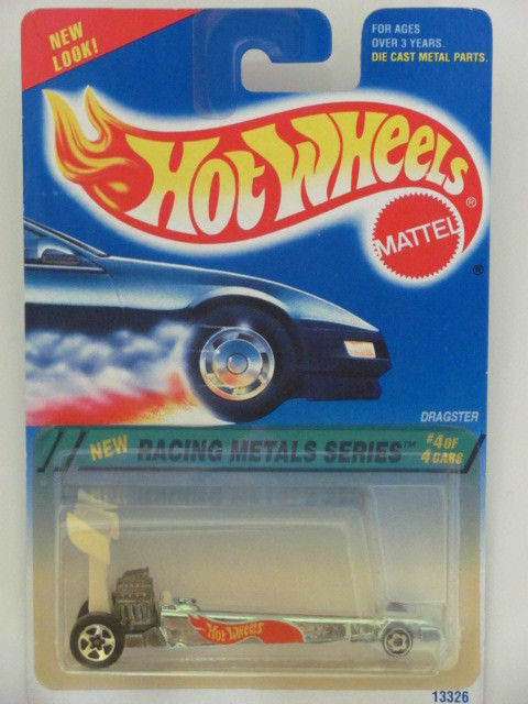 HOT WHEELS 1994 RACING METALS SERIES DRAGSTER #4/4