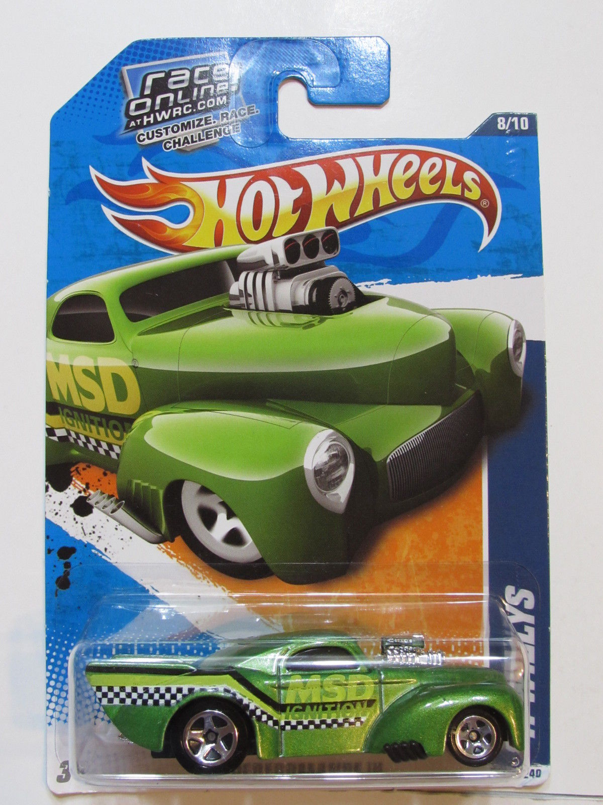 HOT WHEELS 2011 HW PERFORMANCE 41 WILLYS