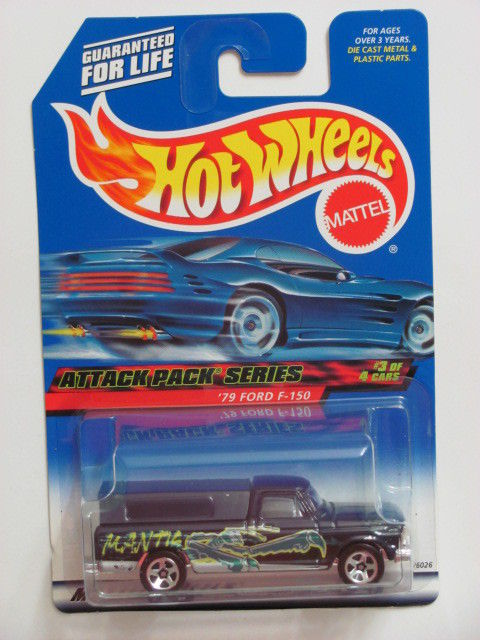 HOT WHEELS 2000 ATTACK PACK SERIES '79 FORD F-150 #023 E+