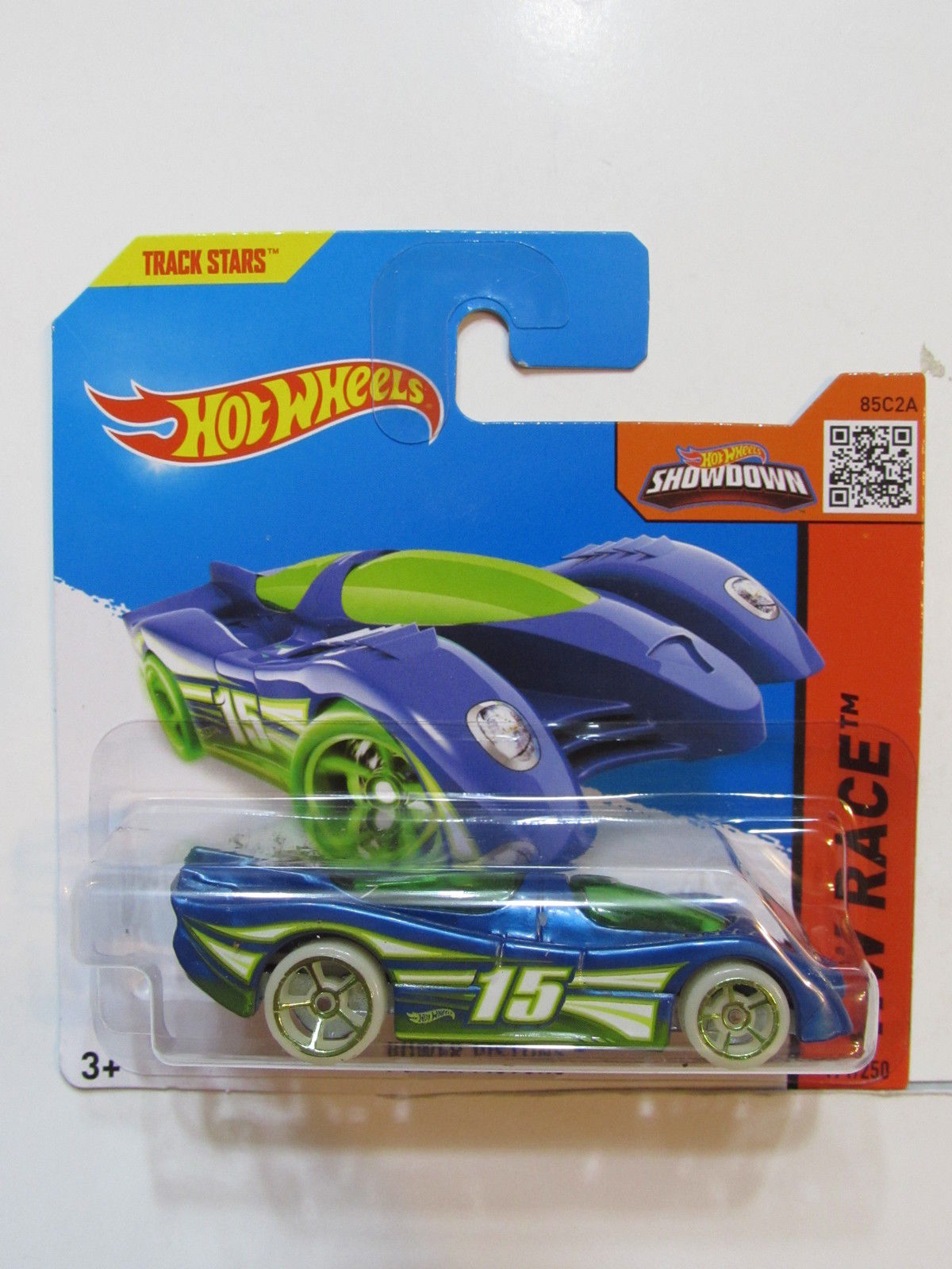 HOT WHEELS 2015 HW RACE - POWER PISTONS SHORT CARD