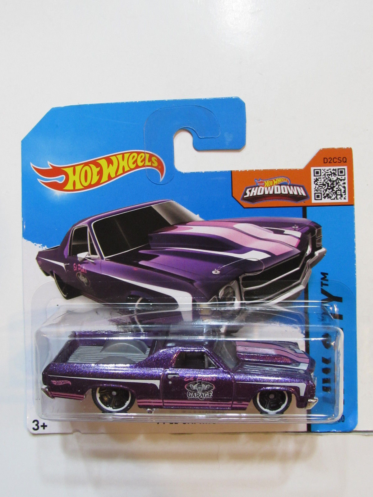 HOT WHEELS 2015 HW CITY - '71 EL CAMINO SHORT CARD E+