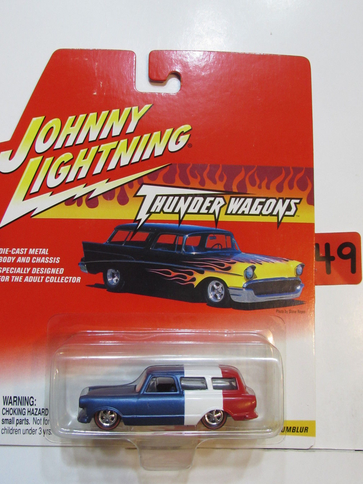 JOHNNY LIGHTNING THUNDER WAGONS - 1950'S CUSTOM RUMBLUR